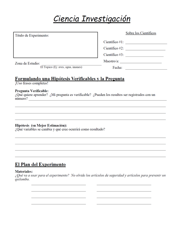 Science Inquiry Worksheets - GLEN\'S GIZMOS